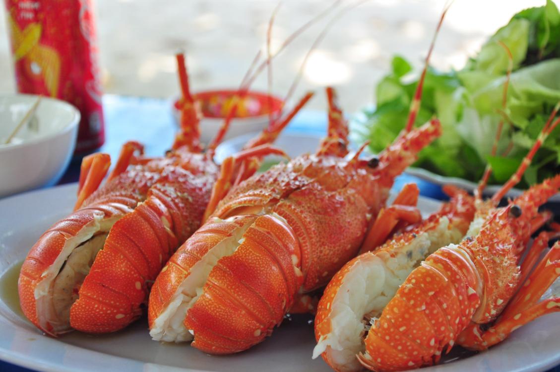 Ẩm thực du lịch đảo Bình Ba 1