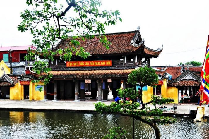 Tour đền trần chùa keo chùa đồng bằng