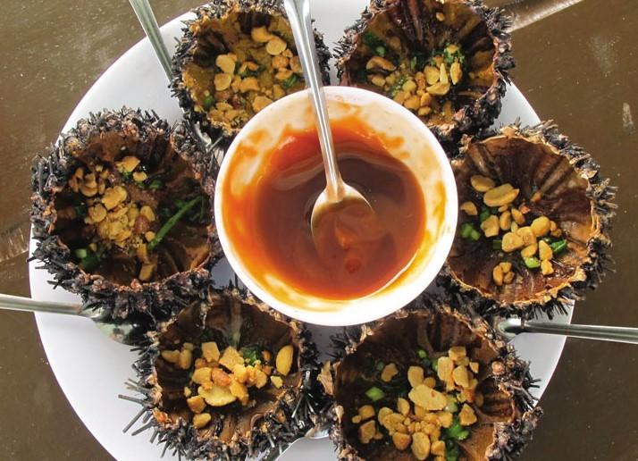 Ăn gì khi du lịch đảo Bà Lụa