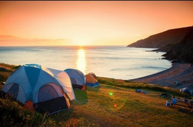 Cắm trại qua đêm du lịch đảo Bà Lụa