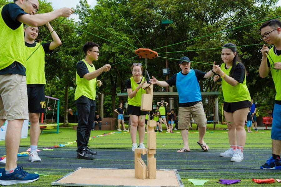 Tour Du Lịch Team Building Hà Nội Long Việt Resort 01 Ngày 14