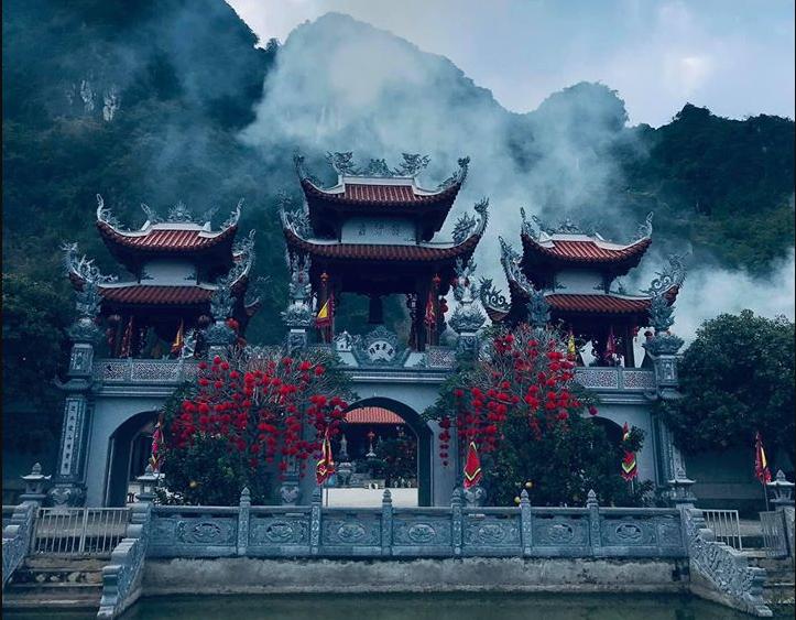 Tour thung nai đền thác bờ đền bồng lai