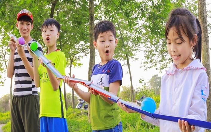 Trò chơi team building cho trẻ em 1