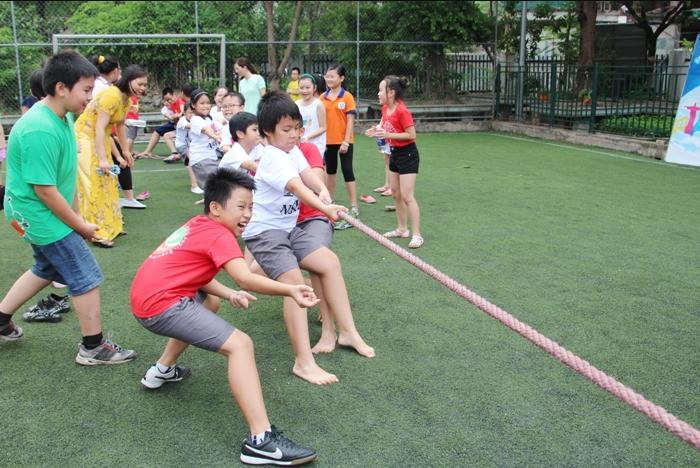 Trò chơi team building cho trẻ em 3