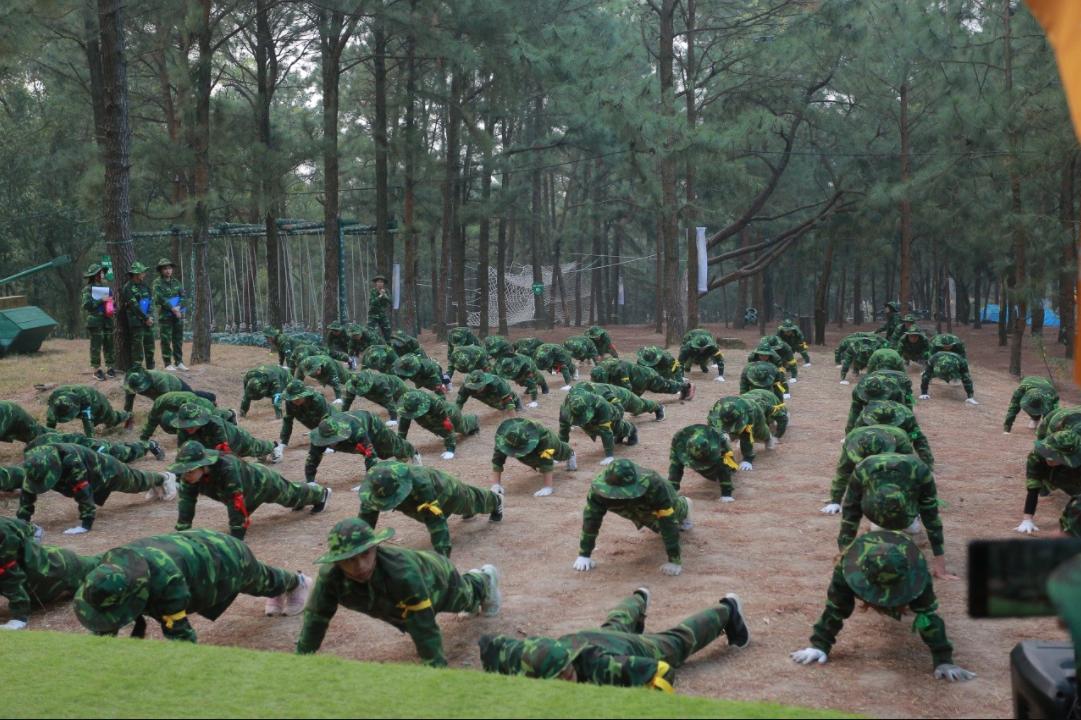 Địa điểm tổ chức team building quân đội 2