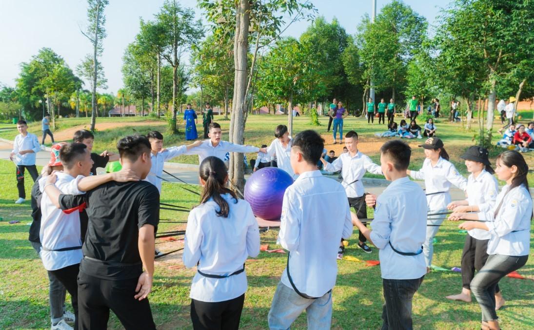 Địa điểm tổ chức team building cho học sinh
