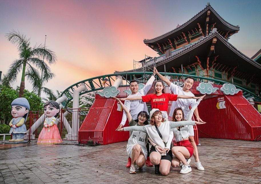 Địa điểm tổ chức team building đà nẵng