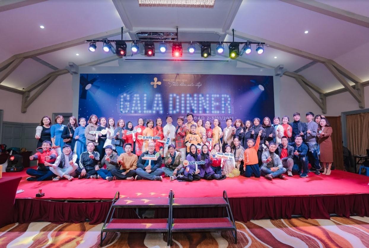 Lời dẫn chương trình gala dinner 10