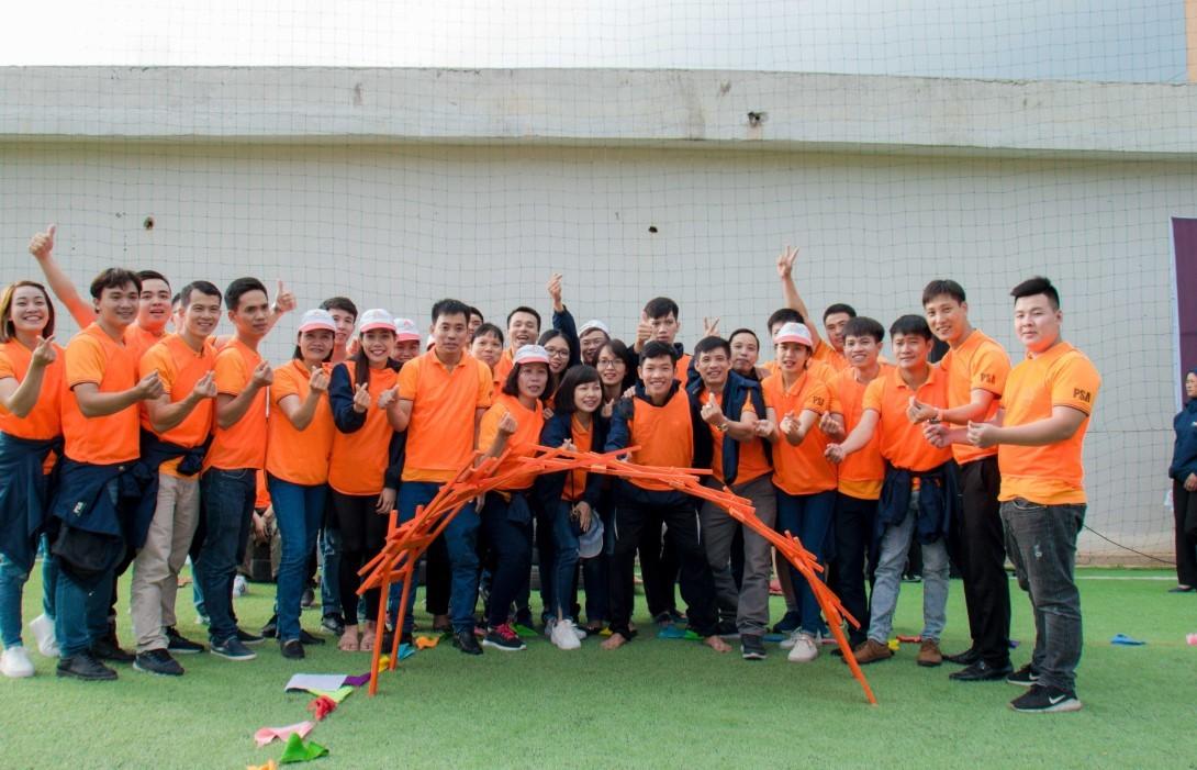 Trò chơi team building resort