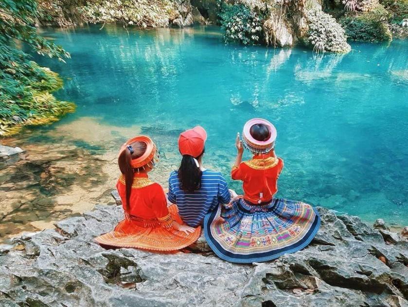 Địa điểm du lịch Cao Bằng suối Lê Nin
