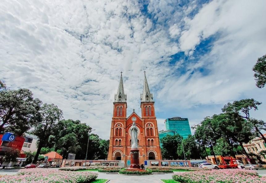 Những địa điểm đẹp khi đi du lịch Hồ Chí Minh