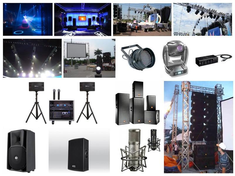 Cho thuê âm thanh ánh sáng - Luxtour 2