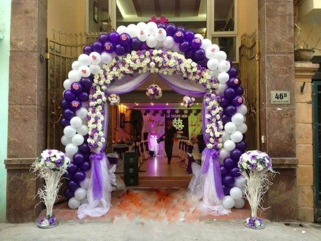 Cho thuê cổng bong bóng sự kiện - Luxtour 9