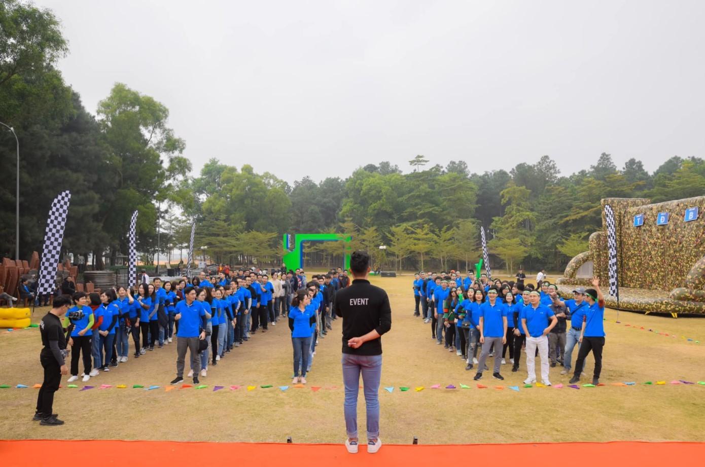 Cho thuê MC team building tại Đà Nẵng - Luxtour 3