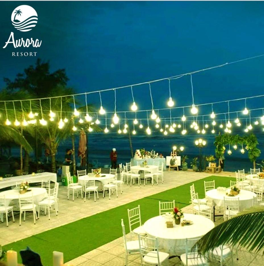 Địa điểm tổ chức gala dinner ngoài trời - Luxtour 10