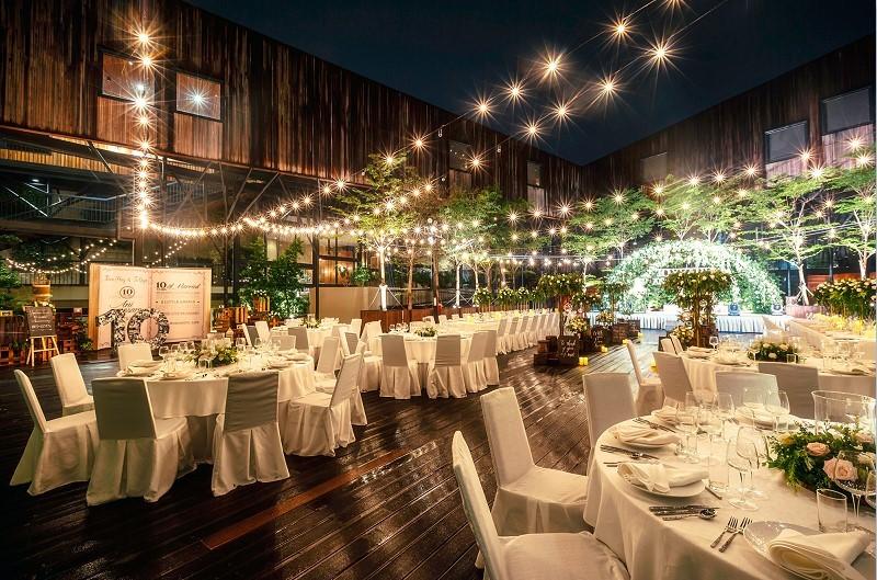 Địa điểm tổ chức gala dinner ngoài trời - Luxtour 4