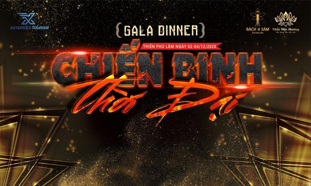 Mẫu backdrop Gala Dinner sáng tạo mới lạ nhất 2021 - Luxtour 13