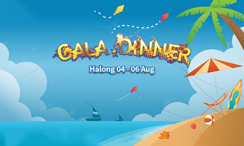 Mẫu backdrop Gala Dinner sáng tạo mới lạ nhất 2021 - Luxtour 20
