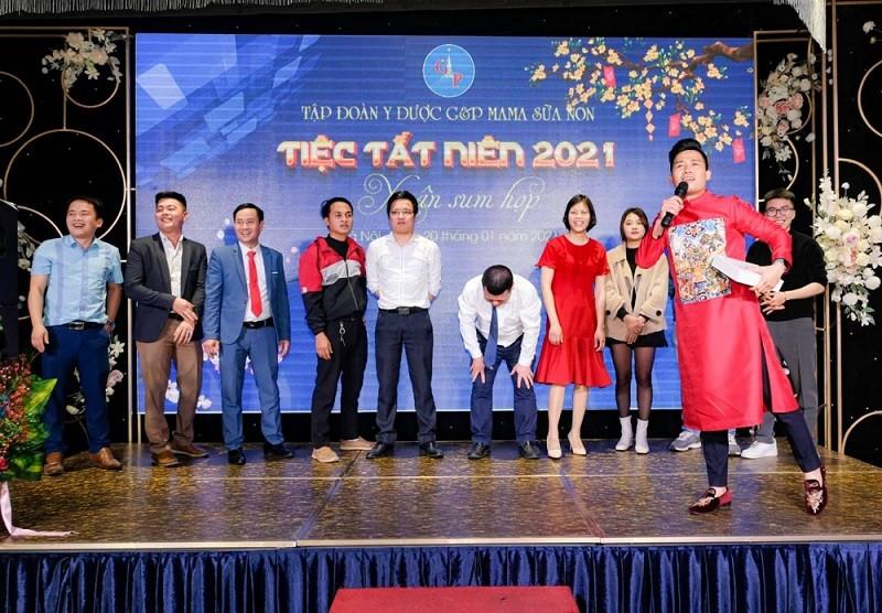 Mẫu kế hoạch tổ chức year end party cuối năm 2021 - Luxtour 3