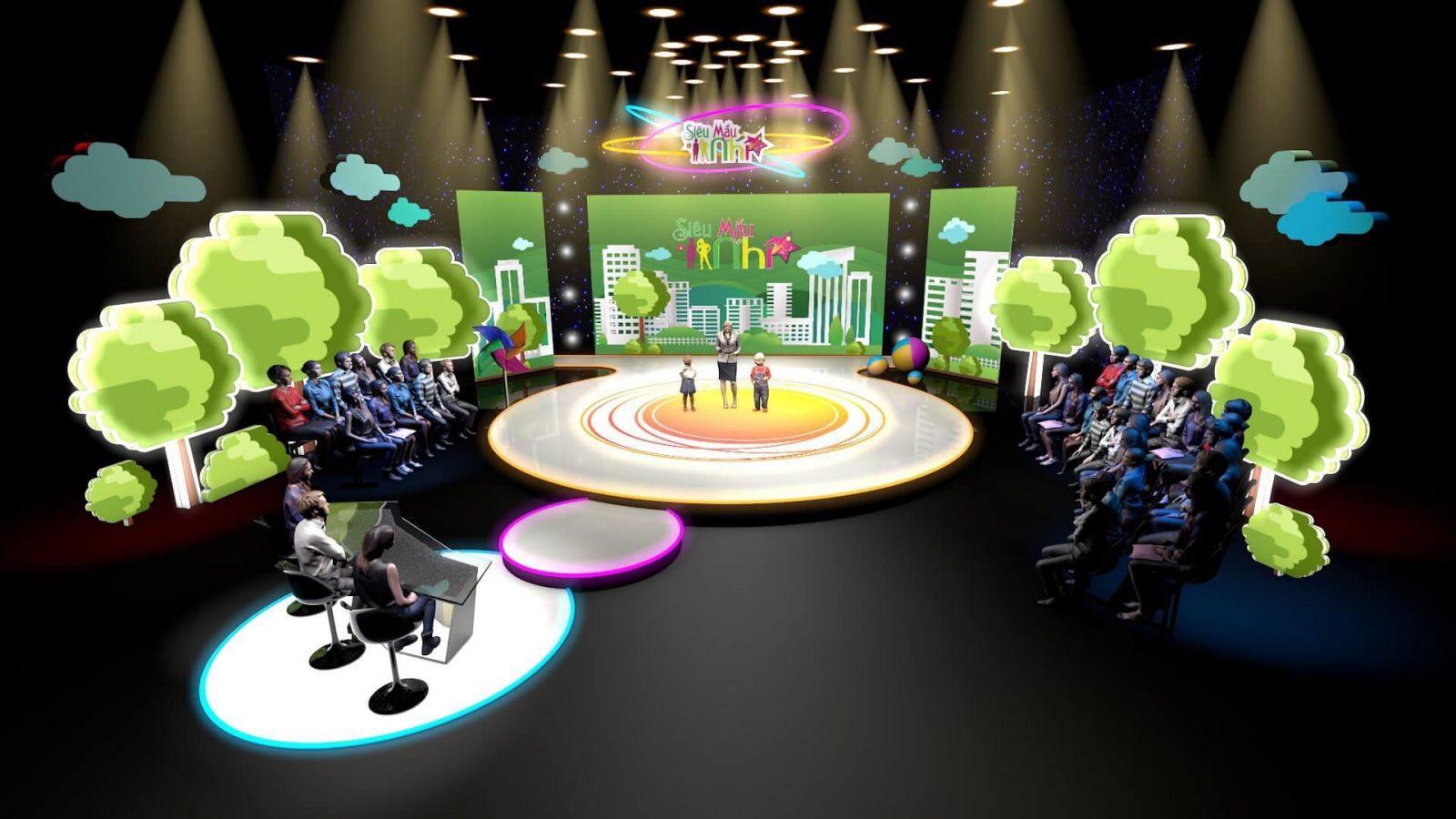 Thiết kế sân khấu sự kiện - Luxtour 6