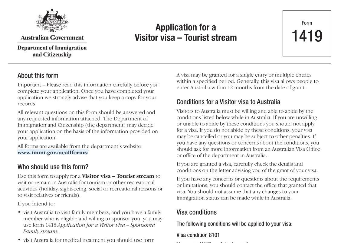 Visa Australia - Luxtour 4