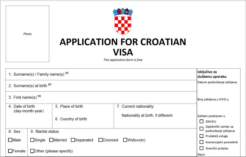 Visa Croatia - Luxtour 3