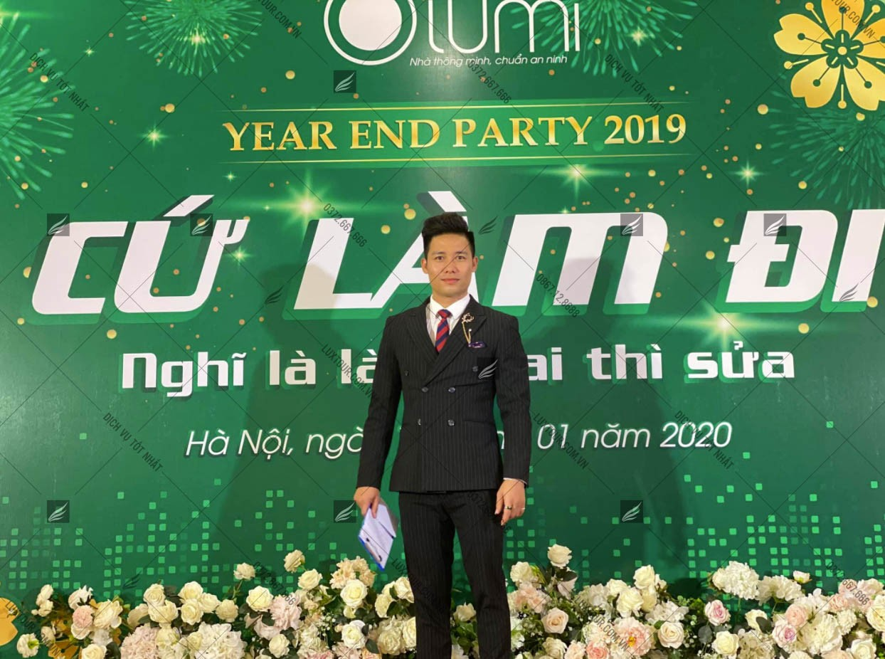 Kịch bản tổ chức year end party - Luxtour 1