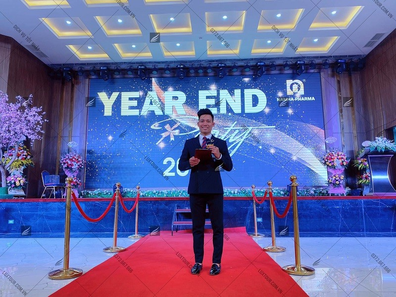 Kịch bản tổ chức year end party - Luxtour 3