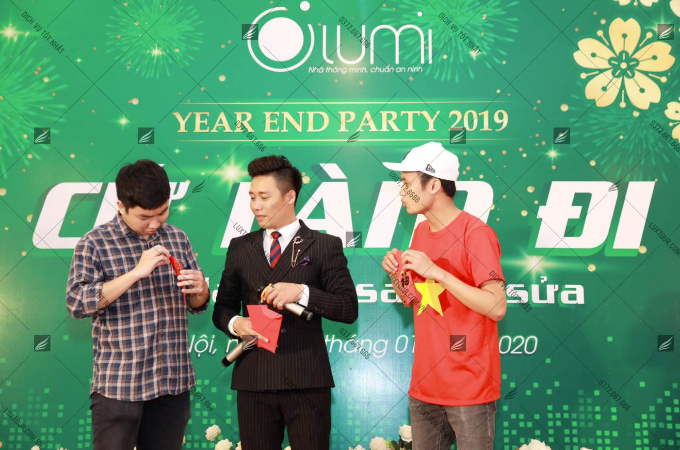 Kịch bản tổ chức year end party - Luxtour 4