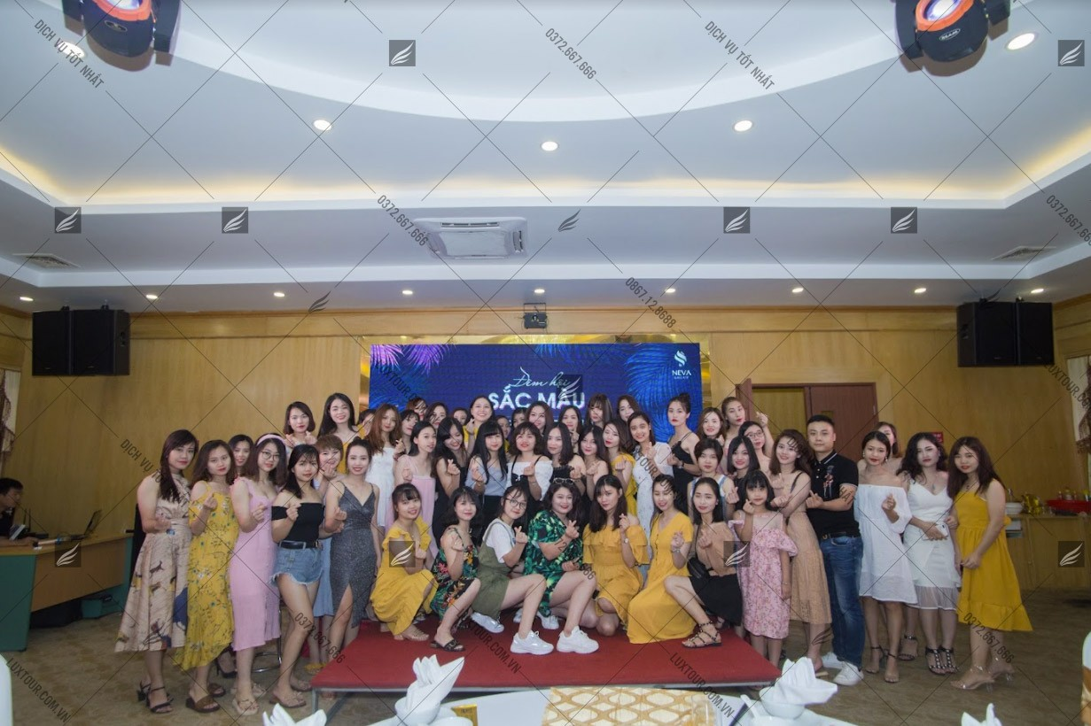 Kịch bản tổ chức year end party - Luxtour 6